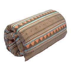 تشک میهمان ژینورا طرح سنتی رنگین کمان سایز 190×90 سانتیمتر