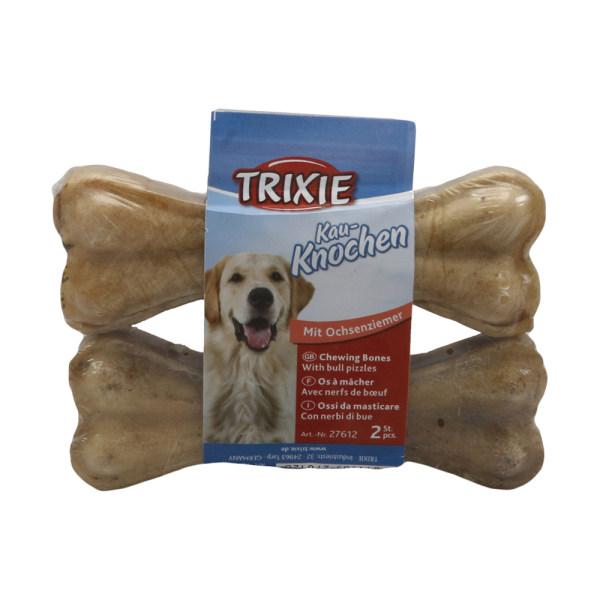 غذای استخوان تشویقی سگ تریکسی مدل Mit Ochsenziemer بسته 2 عددی