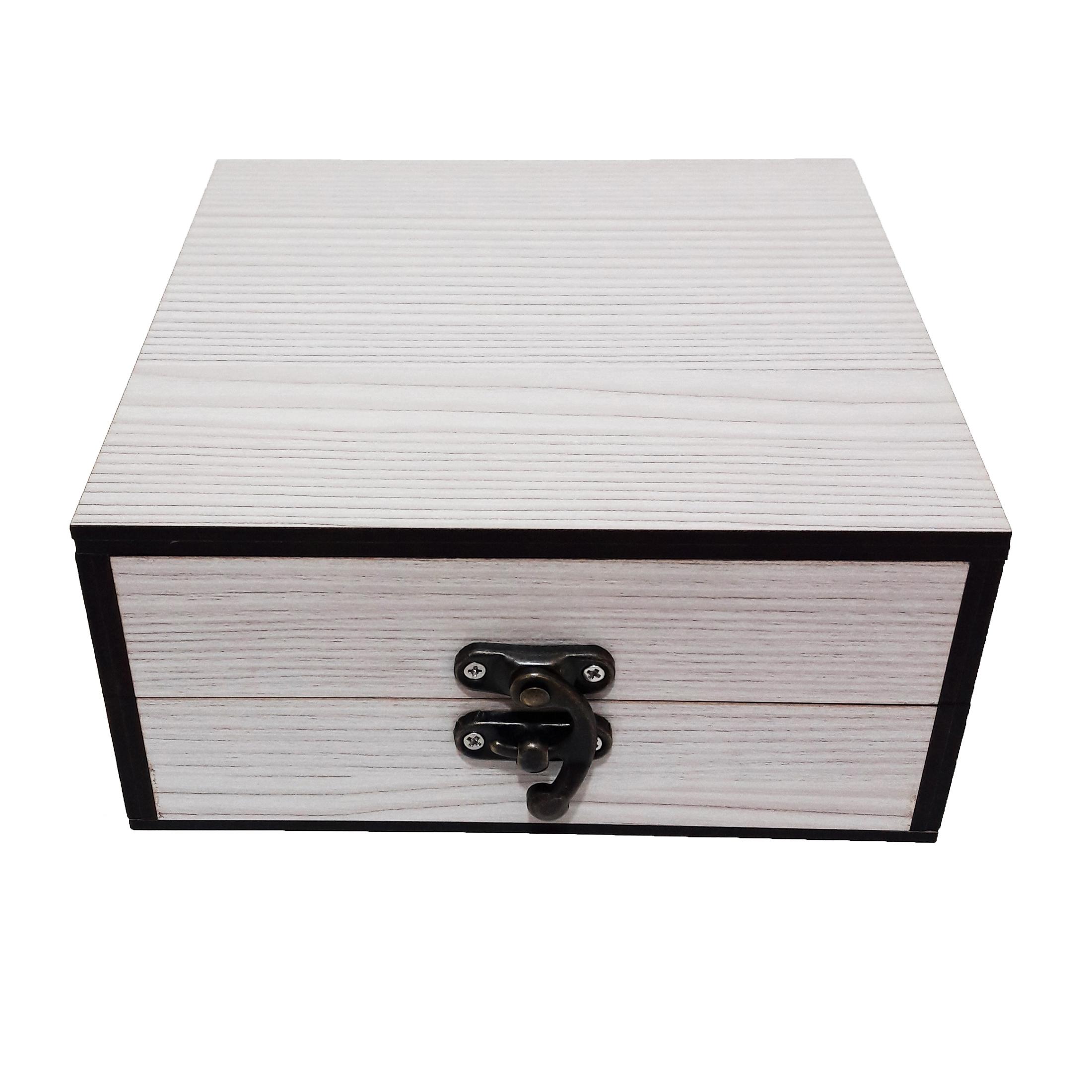 جعبه هدیه چوبی کادو آیهان باکس مدل 45