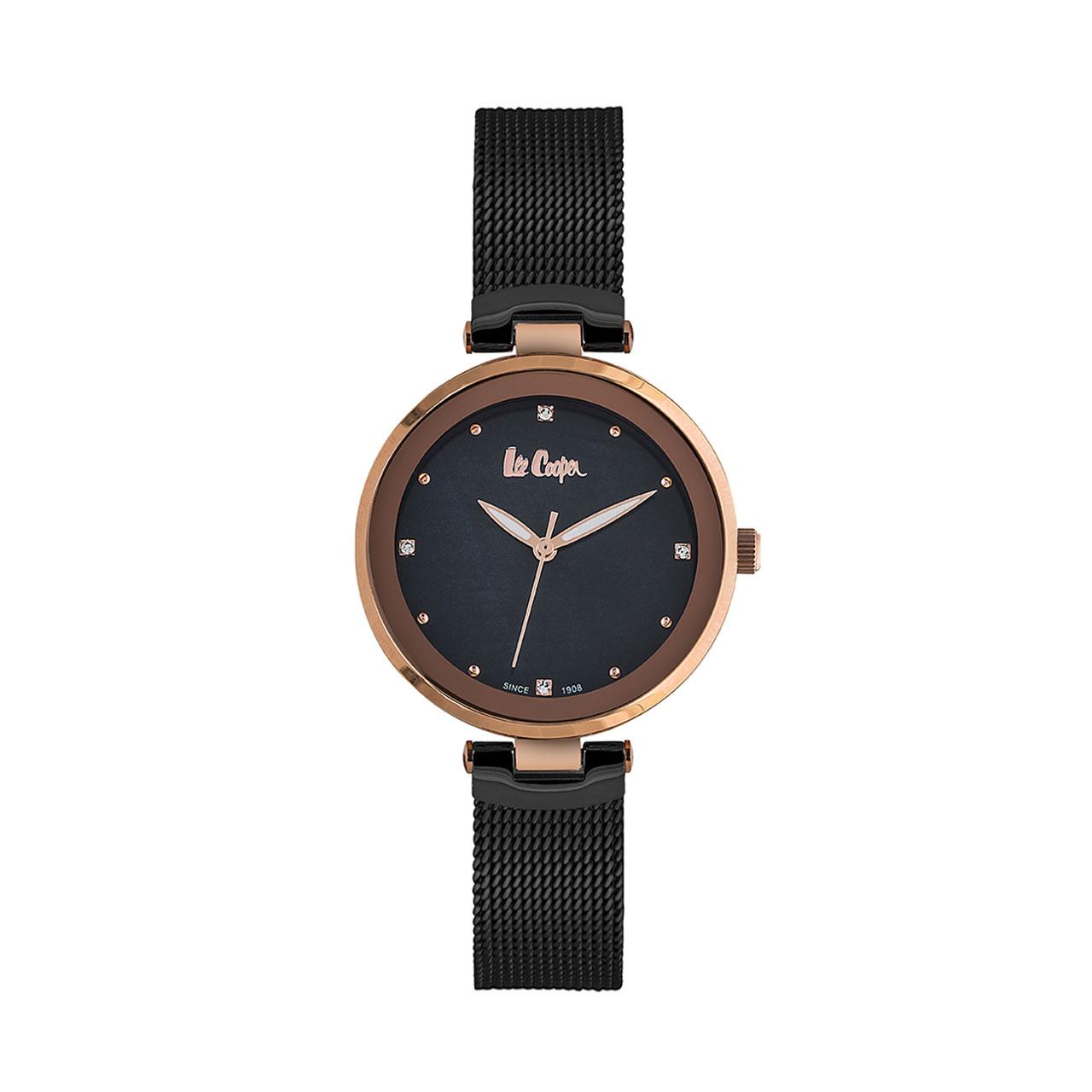 خرید ساعت مچی عقربه ای زنانه لی کوپر مدل LC06508.450