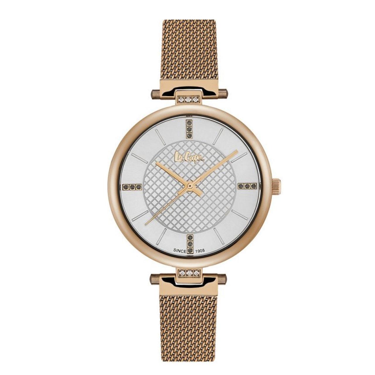 ساعت مچی عقربه ای زنانه لی کوپر مدل LC06463.430