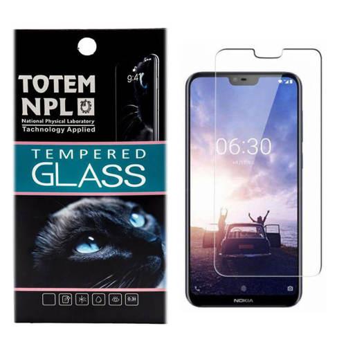 محافظ صفحه نمایش شیشه ای توتم مدل Tempered مناسب برای گوشی موبایل Nokia 6.1 Plus