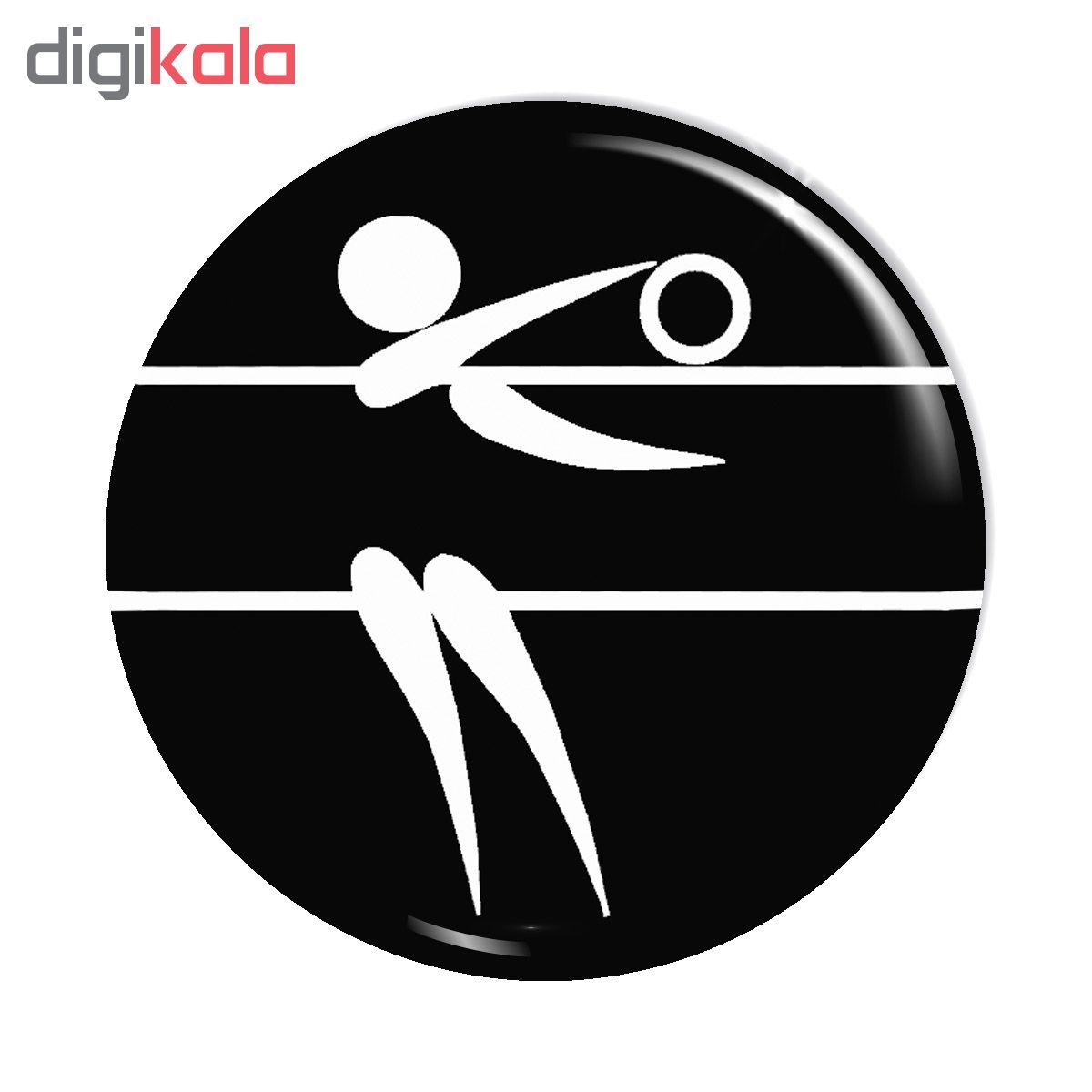 پیکسل آسانا طرح ورزش والیبال  کد ASA159