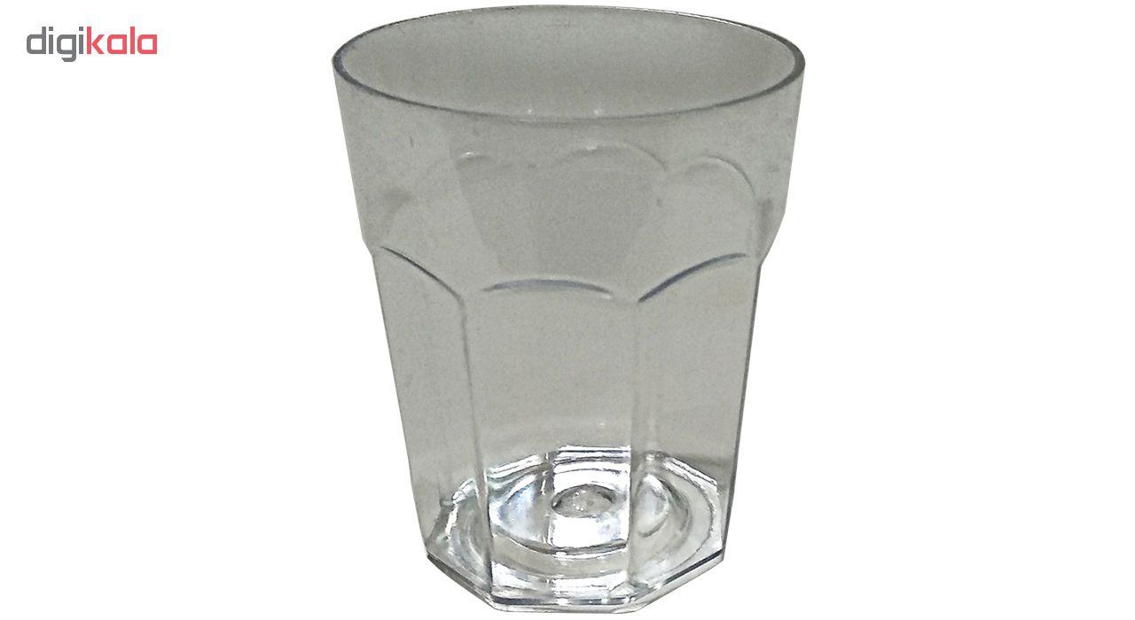 لیوان یک بار مصرف روشاپلاست کد 40 بسته 50 عددی