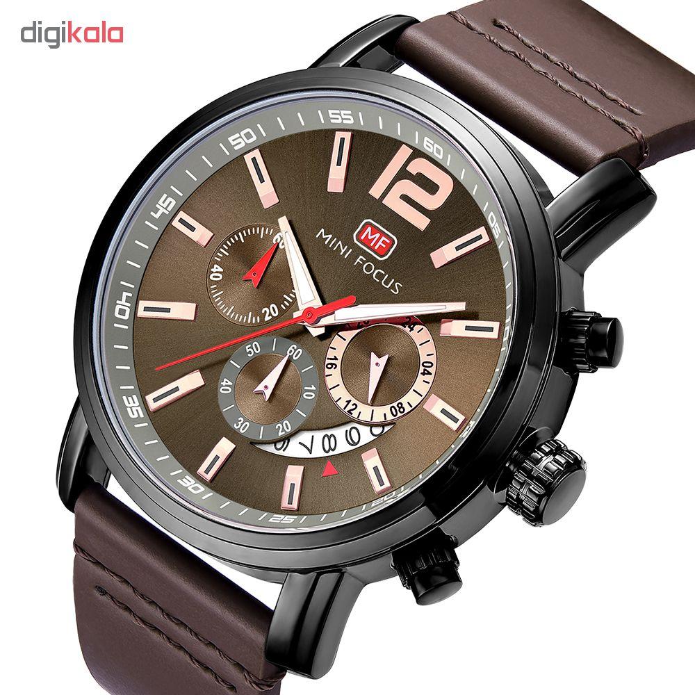 ساعت مچی عقربه ای مردانه مینی فوکوس مدل mf0086g.04