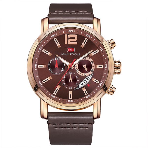 ساعت مچی عقربه ای مردانه مینی فوکوس مدل mf0086g.02