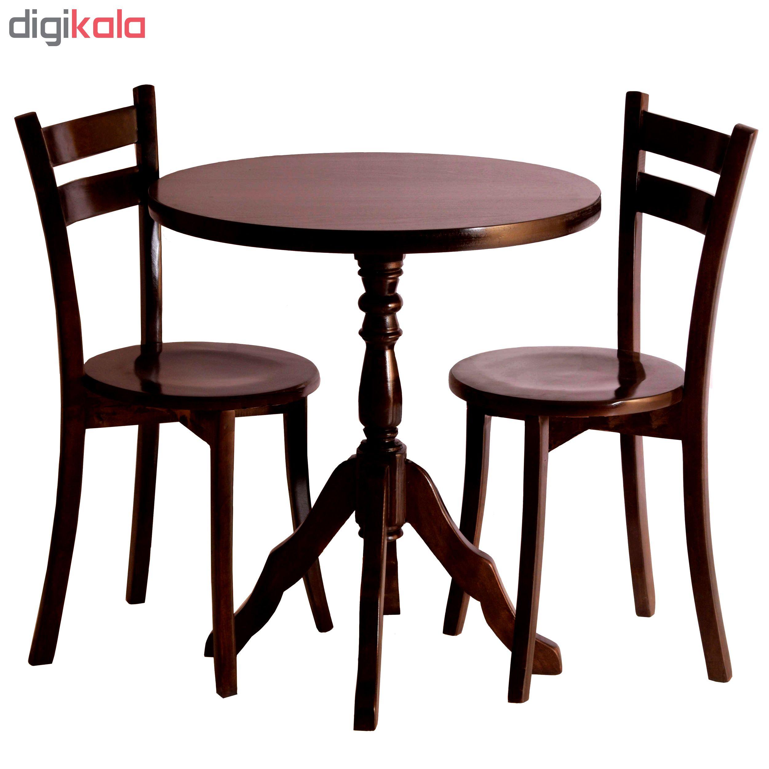 میز و صندلی ناهار خوری لمکده مدل mersana