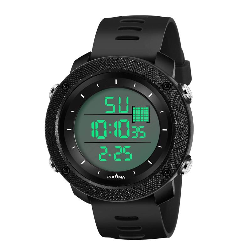 ساعت مچی دیجیتال مردانه پیااوما مدل B2804-BL