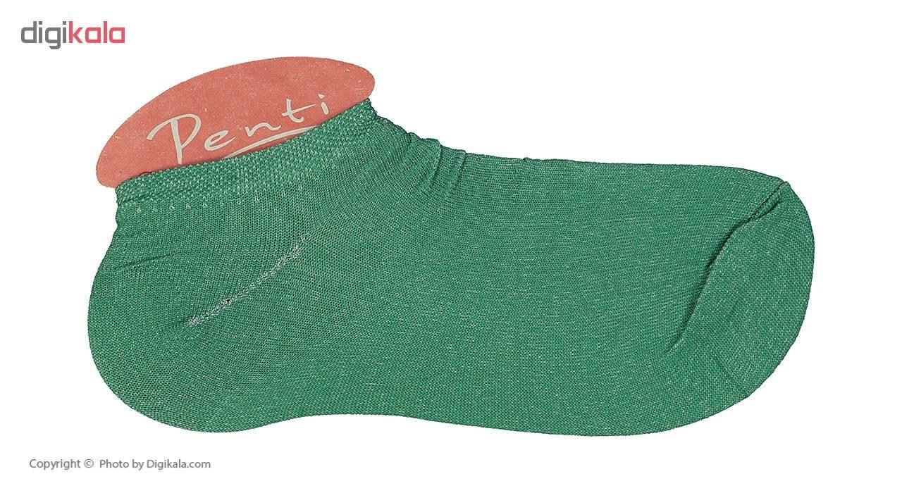 جوراب زنانه پنتی مدل Mul14 بسته 12 عددی main 1 34