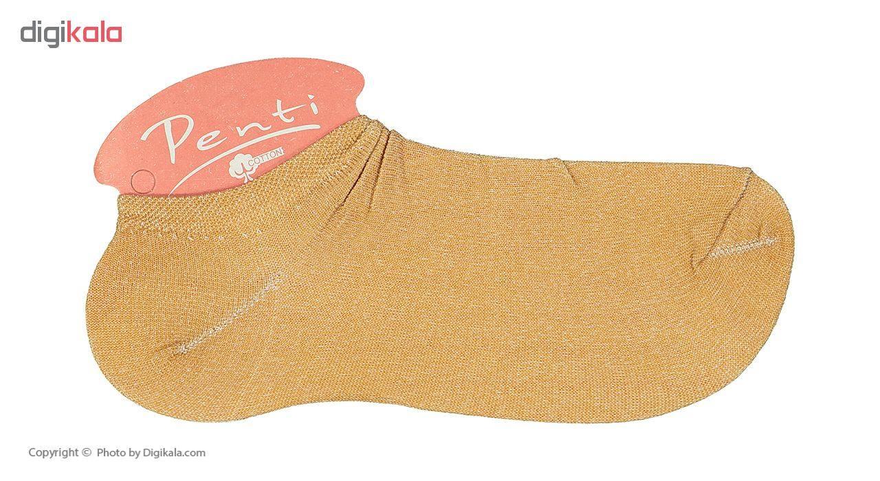 جوراب زنانه پنتی مدل Mul14 بسته 12 عددی main 1 16