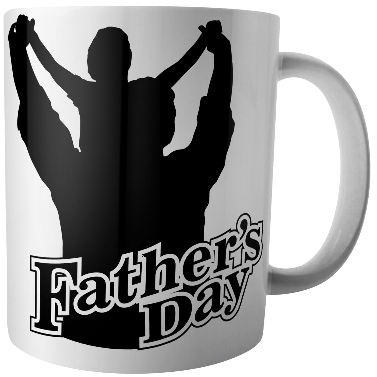 عکس ماگ آکو طرح روز پدر کد B352