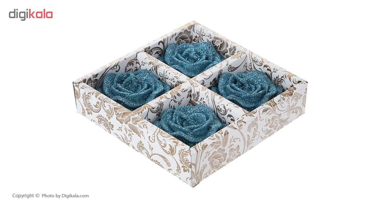 شمع مدل ROSE-B4 بسته 4 عددی main 1 7