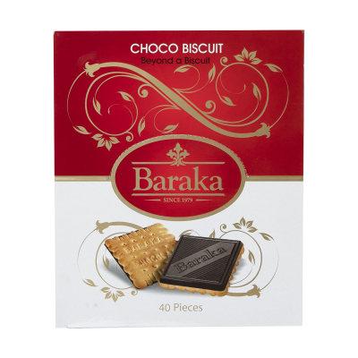 بیسکوئیت با روکش شکلاتی باراکا بسته 40 عددی