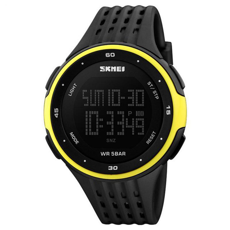 ساعت مچی دیجیتال مردانه اسکمی مدل S1219/yellow 41