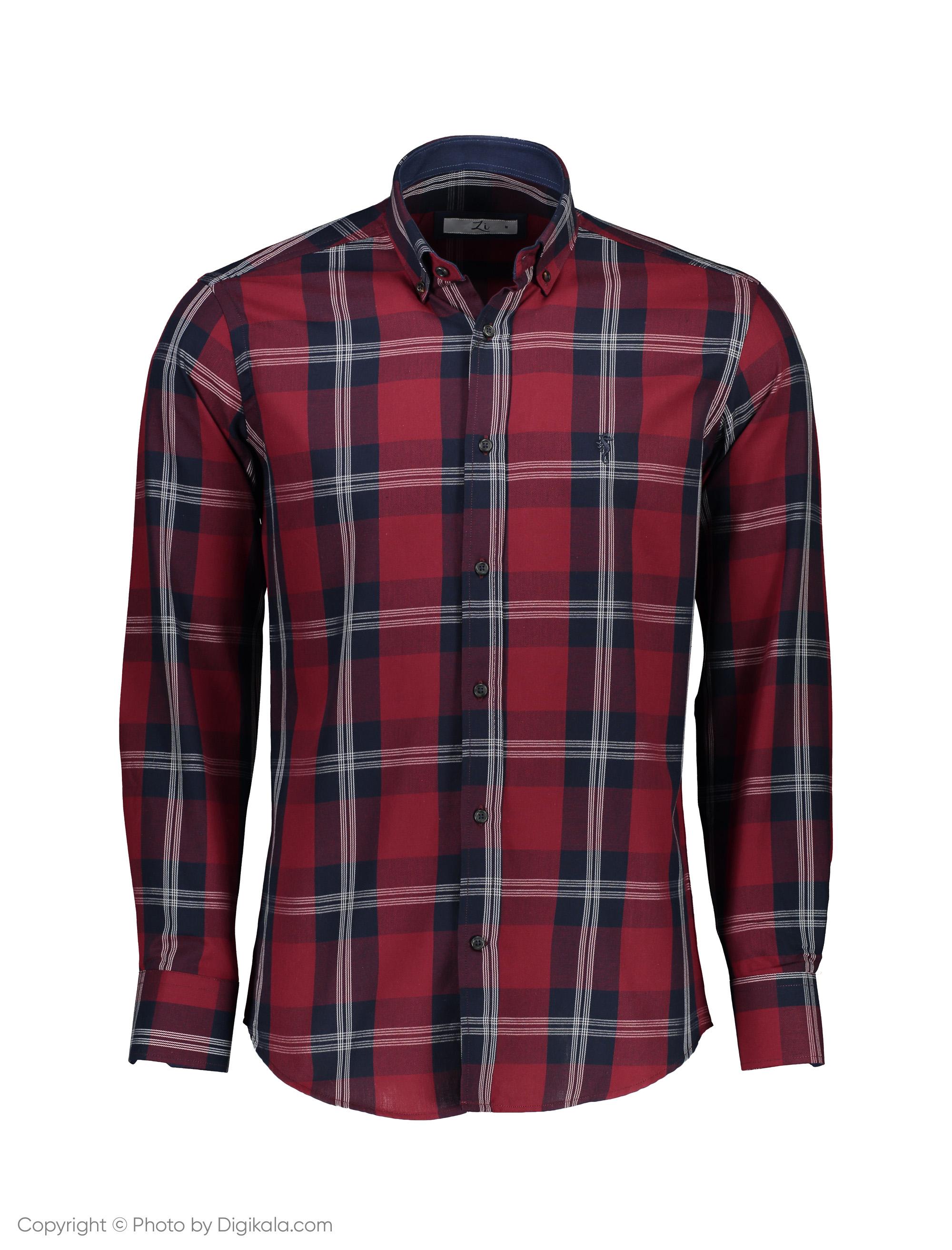پیراهن مردانه زی مدل 15311377259