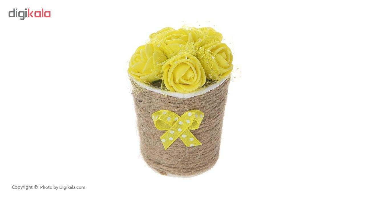 گلدان گل مصنوعی مدل MOHAMADI-3 بسته 3 عددی main 1 4