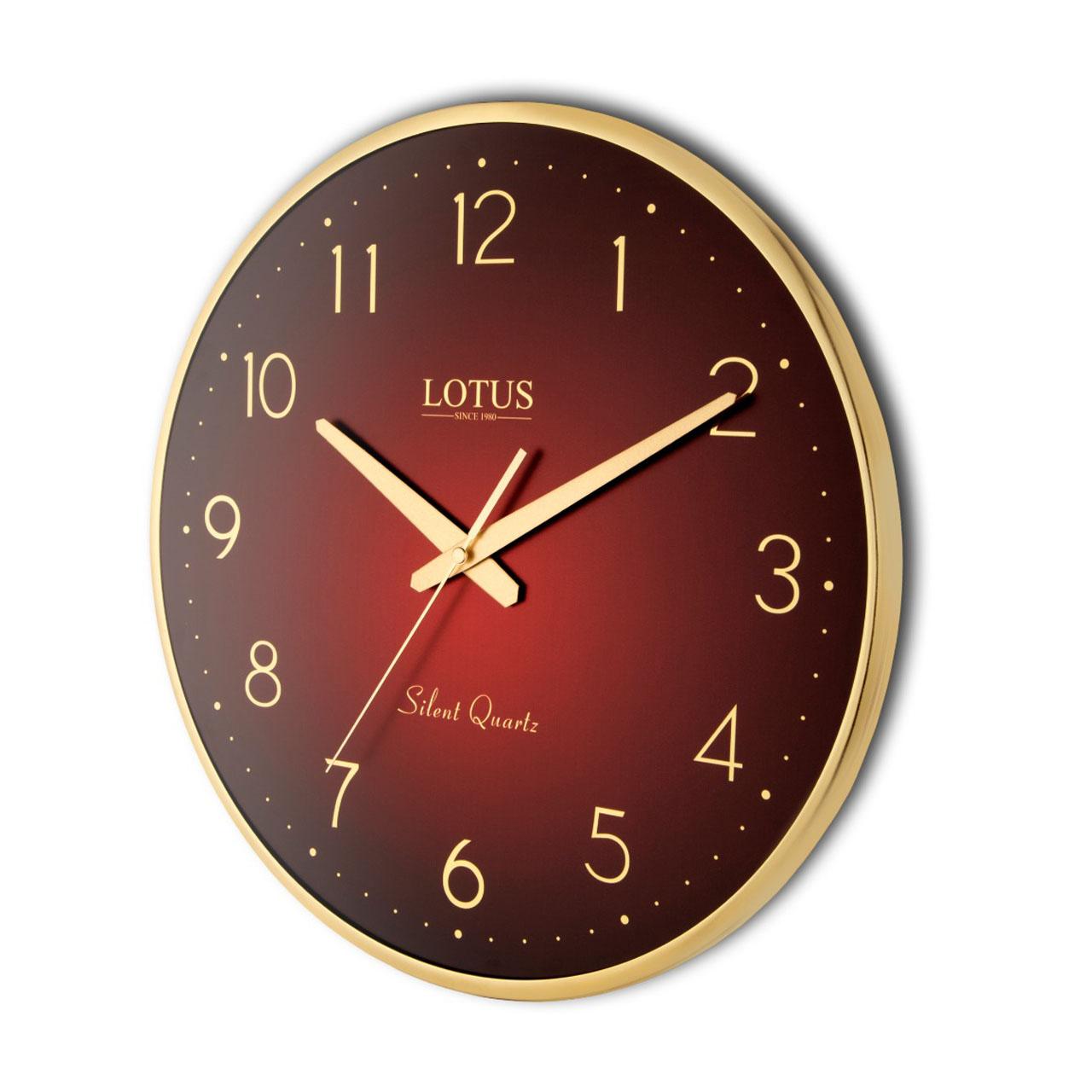 ساعت دیواری لوتوس مدل JACOB-M-6614