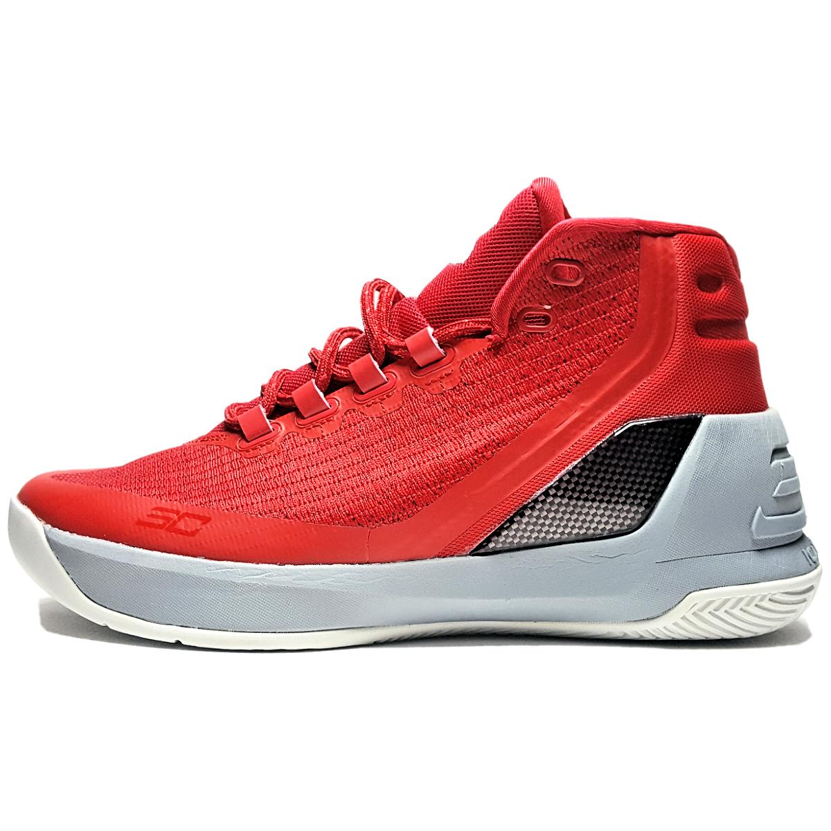 قیمت کفش نیم ساق آندر آرمور مدل Curry 3 Davidson Red