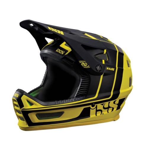 کلاه ایمنی دوچرخه آی ایکس اس مدل Xult Yellow-ML