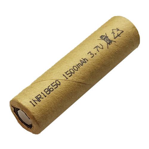 باتری لیتیومی کد 18650 ظرفیت 1500 میلی آمپر ساعت