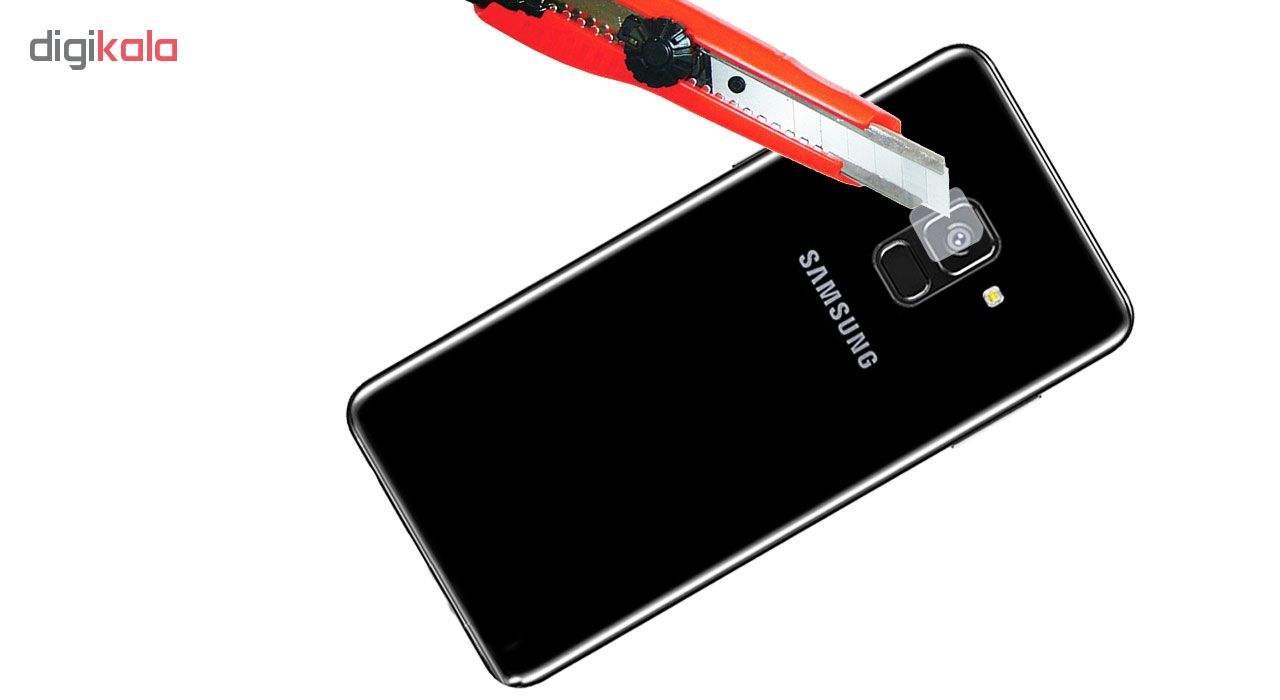 محافظ لنز دوربین هورس مدل UTF مناسب برای گوشی موبایل سامسونگ Galaxy A8 2018 main 1 3