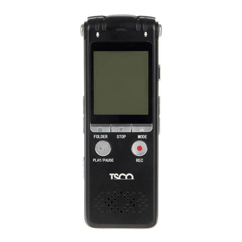 ضبط کننده صدا تسکو مدل TR 906 به همراه یک عدد رم ریدر هدیه