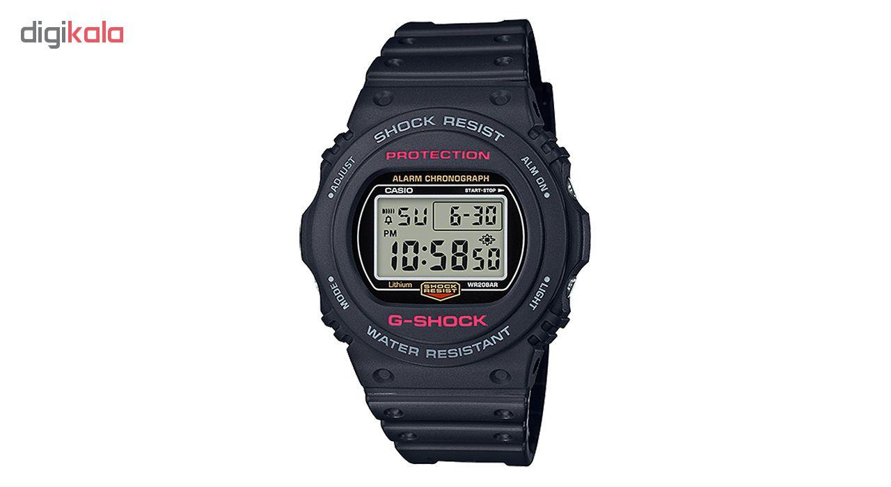 ساعت مچی دیجیتال مردانه کاسیو جی شاک مدل DW-5750E-1DR             قیمت