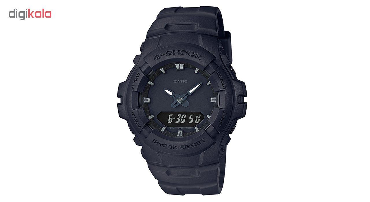 کد تخفیف                                      ساعت مچی عقربه ای مردانه کاسیو مدل G-100BB-1ADR