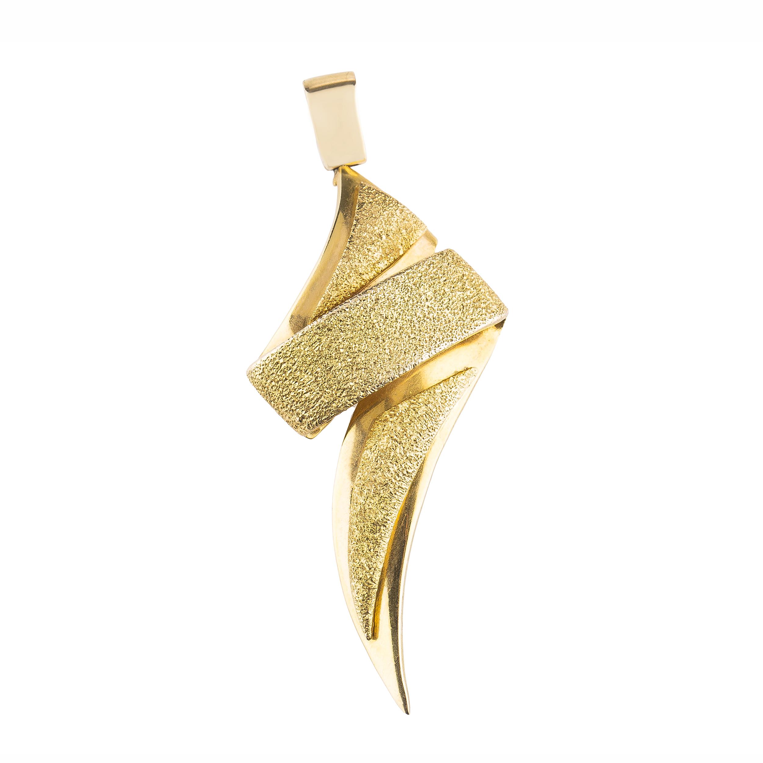 قیمت آویز گردنبند طلا 18 عیار کد p110