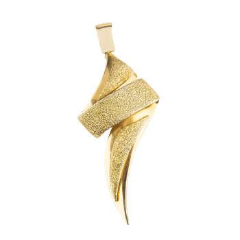آویز گردنبند طلا 18 عیار کد p110  