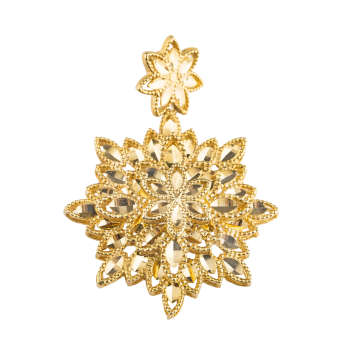 آویز گردنبند طلا 18 عیار کد p112