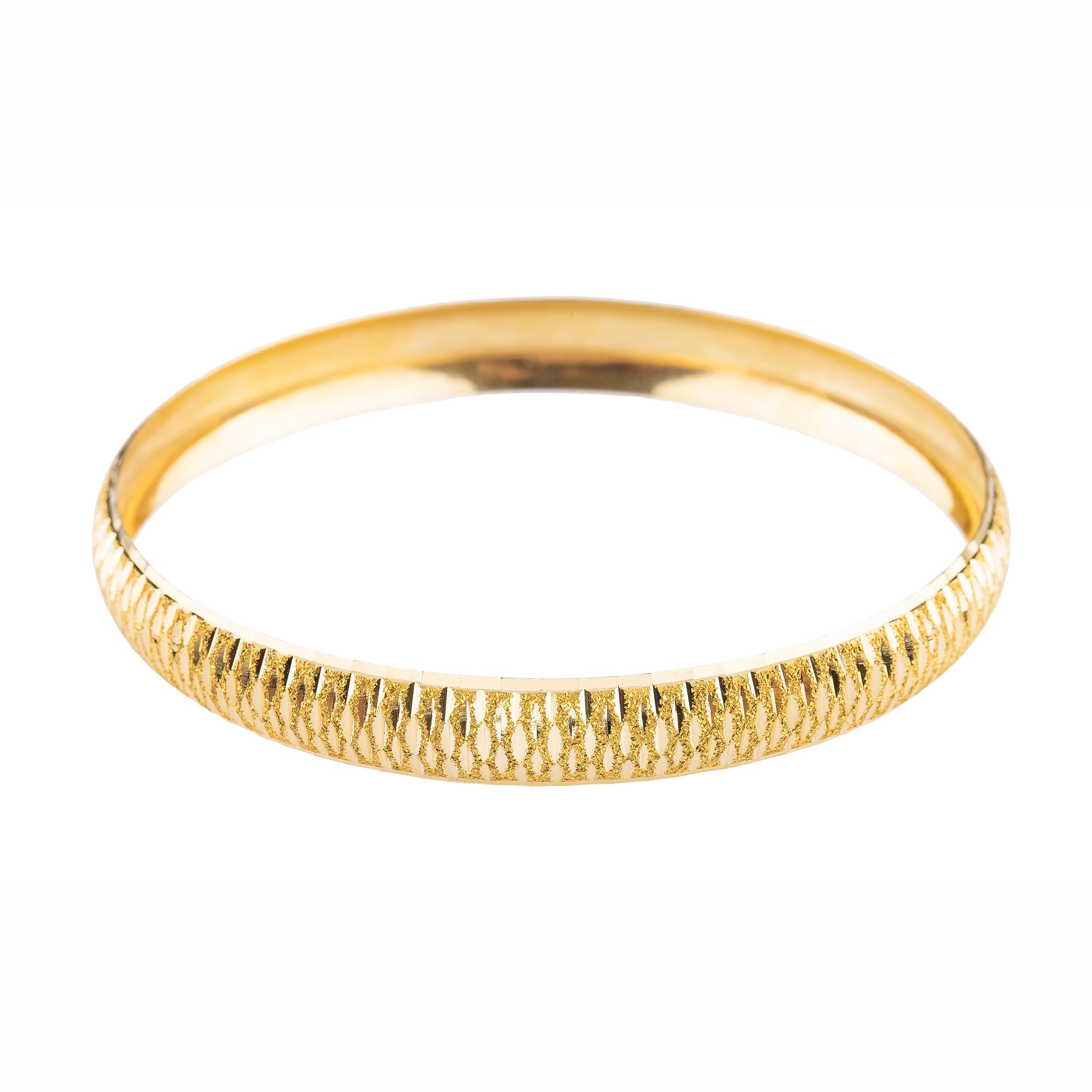 قیمت النگو طلا 18 عیار سایز 2