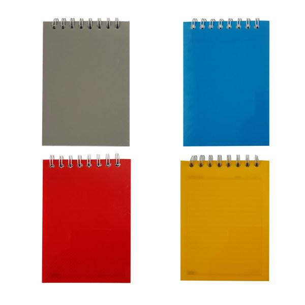 دفترچه یادداشت 60 برگ تکنو کد T76 بسته 4 عددی