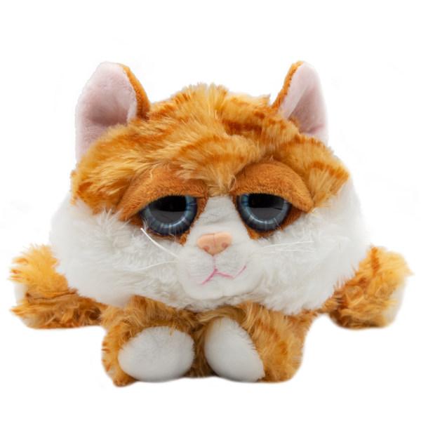 عروسک بی جی دالز طرح گربه خوابیده کد BR2 طول 18 سانتی متر