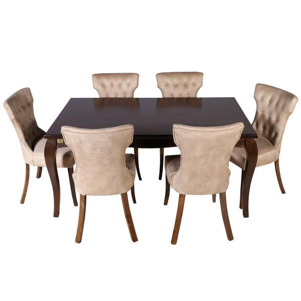 میز و صندلی ناهار خوری چوبکو کد 108