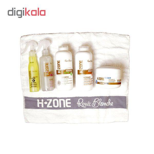 مجموعه مراقبت از مو رنه بلانش مدل H-Zone