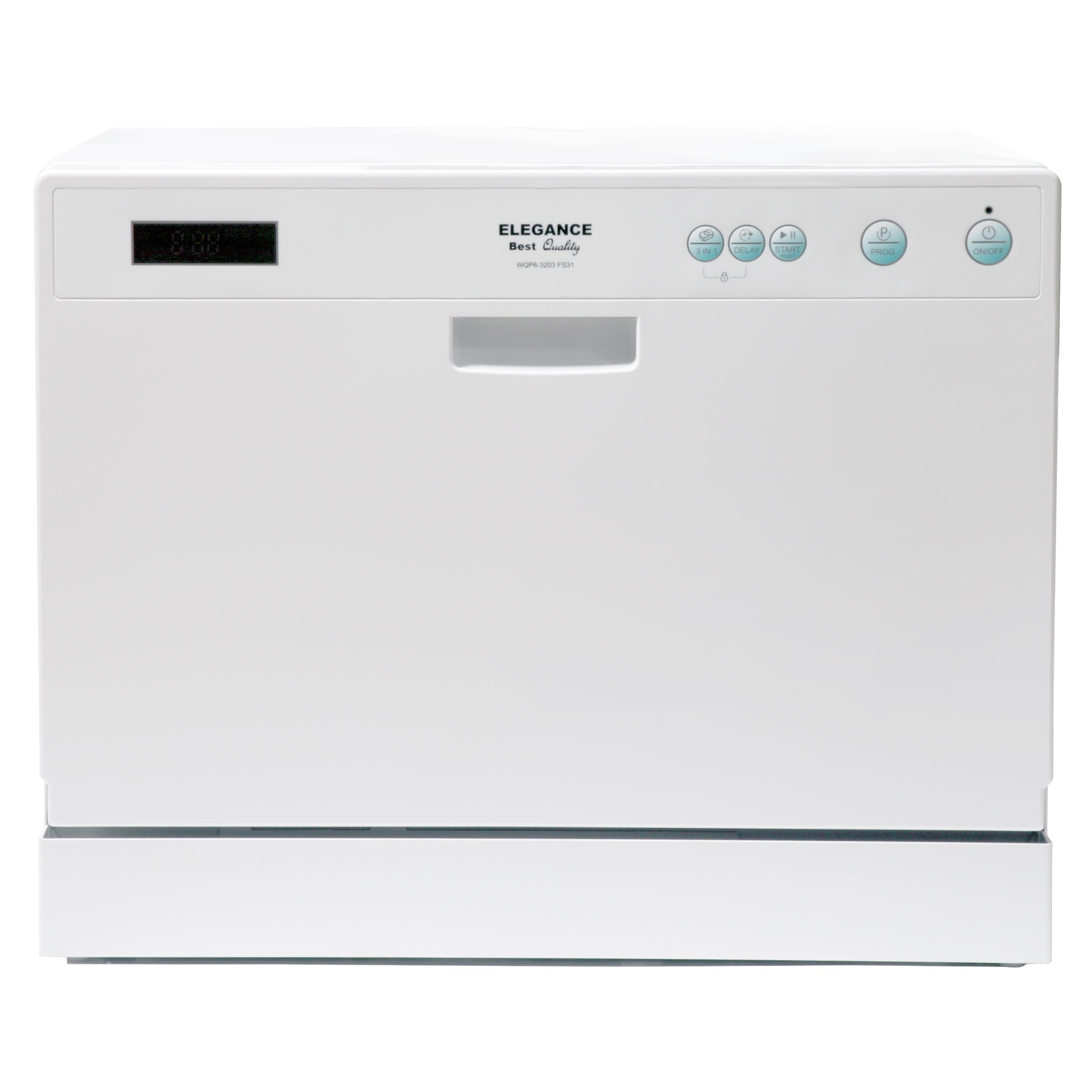 ماشین ظرفشویی الگانس مدل WQP6-3203 FS31