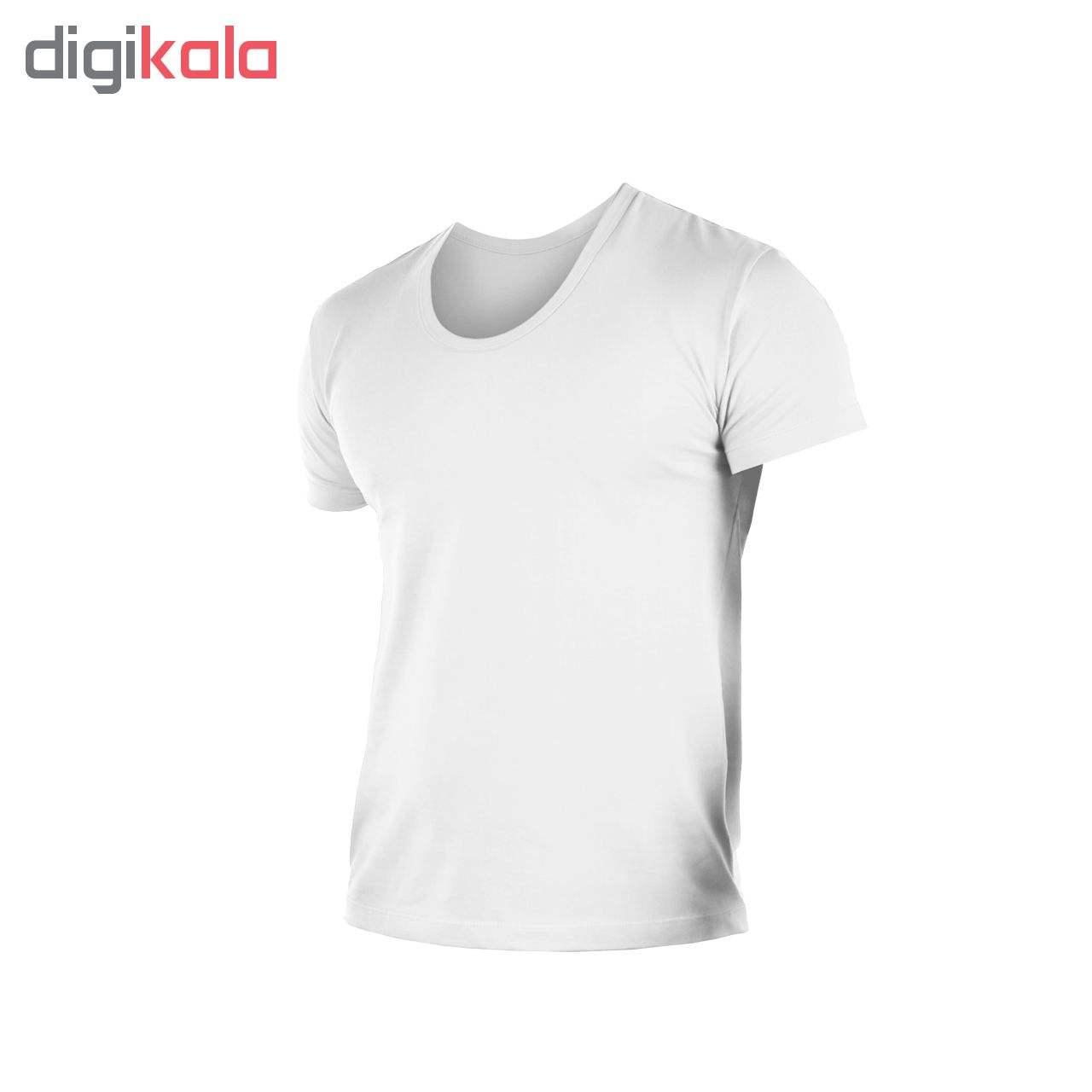 زیرپوش مردانه کیان تن پوش مدل U Neck Shirt Classic W مجموعه ۳ عددی thumb 4