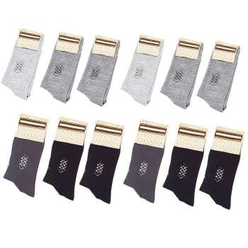 جوراب مردانه کد J1 بسته 12 عددی