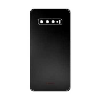 برچسب پوششی ماهوت طرح Black-Color-Shades مناسب برای گوشی موبایل سامسونگ Galaxy S10 PLUS