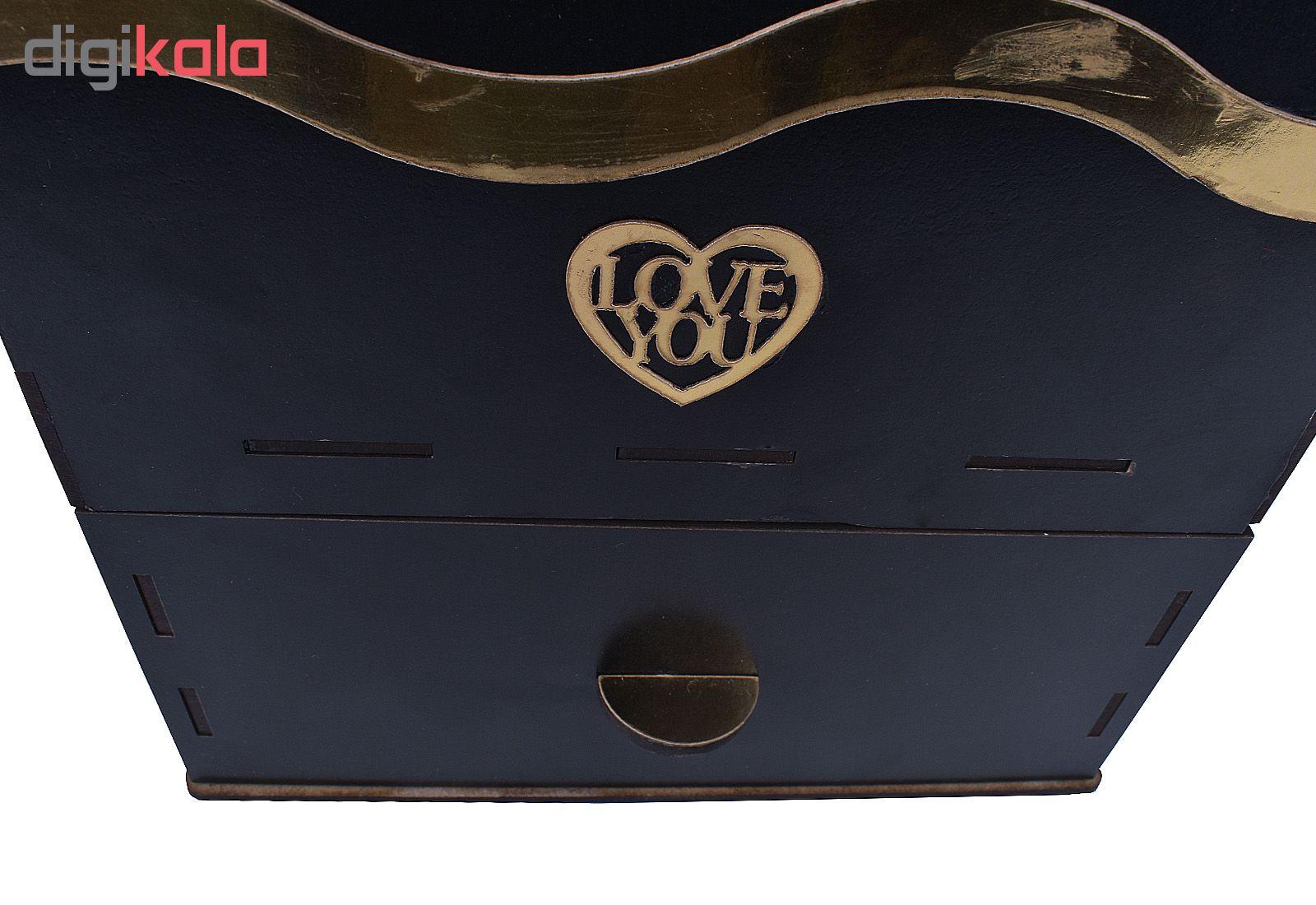 جعبه و گل مصنوعی مدل M1912