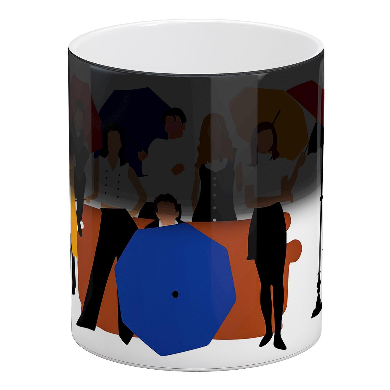 عکس ماگ حرارتی آبنبات رنگی طرح ARM0263 Friends