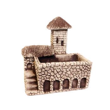 گلدان طرح خانه سنگی کد HP3