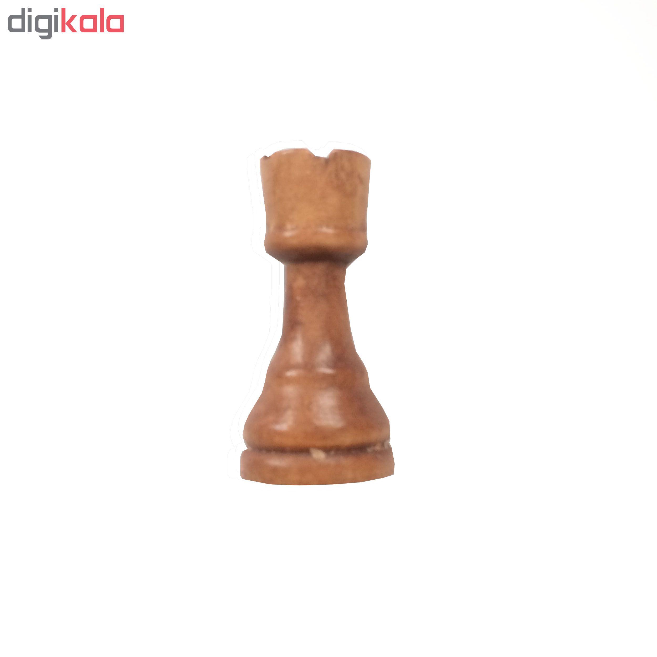 مهره شطرنج مدل G1 مجموعه 32 عددي