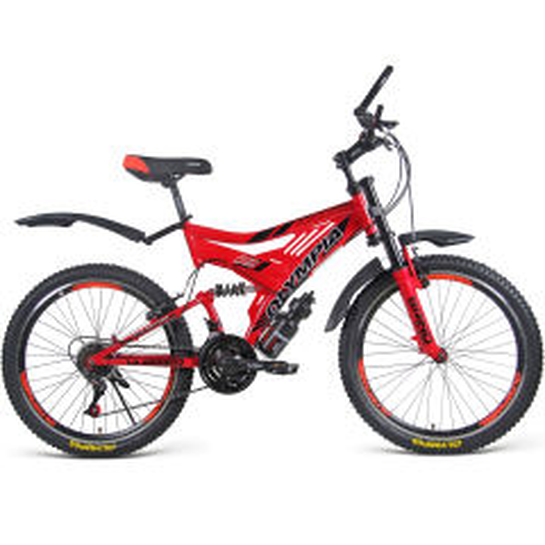 دوچرخه دو کمک کوهستان مدل 2462 سایز 24