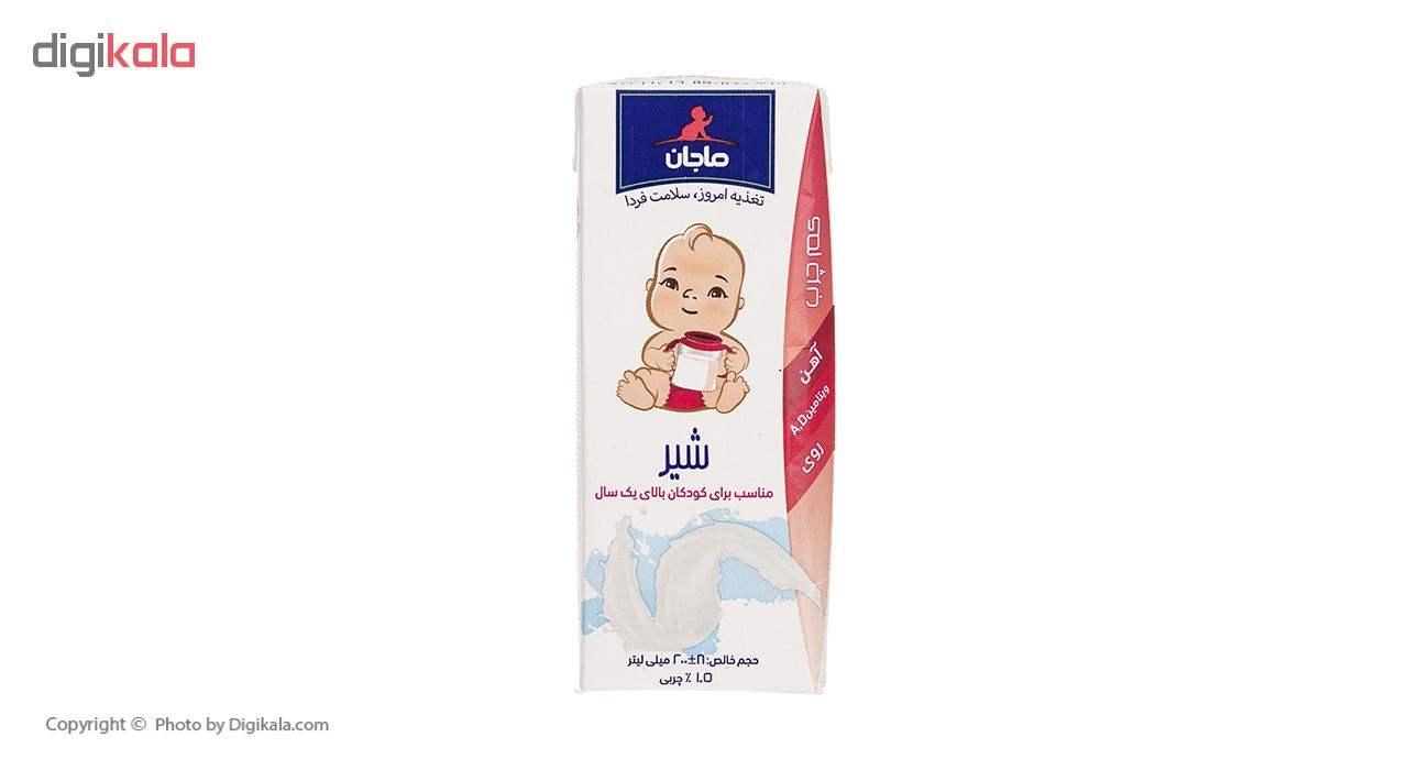 شیر کم چرب غنی شده ماجان کاله مقدار 0.2 لیتر thumb 1