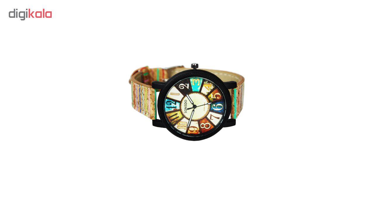 کد تخفیف                                      ساعت مچی عقربه ای مردانه سونسدو مدل S-01