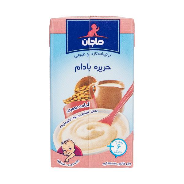 غذای کودک حریره بادام ماجان کاله وزن 135 گرم