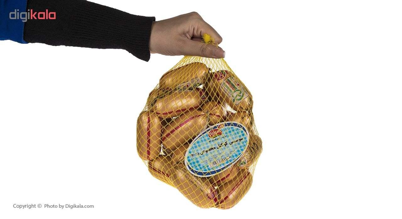سوسیس کوکتل مخصوص 70 درصد سولیکو کاله وزن 1 کیلوگرم thumb 3