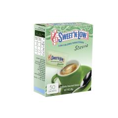 ساشه شیرین کننده سوئیت اند لو مدل Stevia بسته 50 عددی